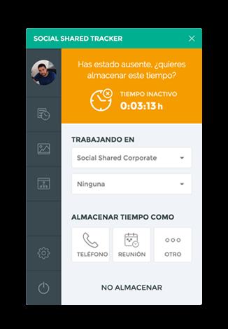 Social Shared Tracker